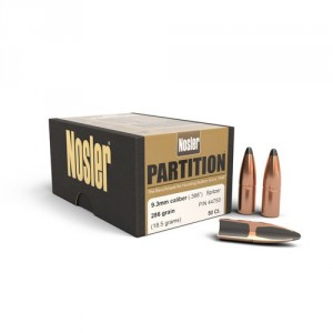 Pociski Nosler 9.3mm 286gr Partition